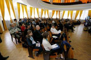 IA2017会場の様子(ルーマニア、 アレクサンドル・イワン・クザ大学)